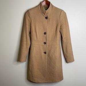 Vintage United Colors of Benetton wool pea coat 2